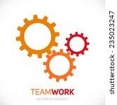 vector gears | Shutterstock .eps vector #235023247