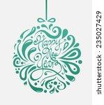 digitally generated stylish...   Shutterstock .eps vector #235027429
