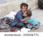 leh  india   september 08 2014  ... | Shutterstock . vector #235036771