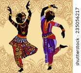 indian woman | Shutterstock .eps vector #235056217