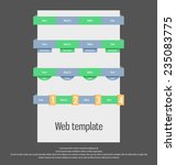 user interface template. web...