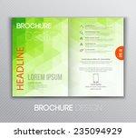 vector illustration abstract... | Shutterstock .eps vector #235094929