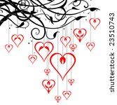 vector hearts | Shutterstock .eps vector #23510743