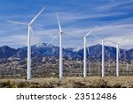 Wind Turbines Generate Power...