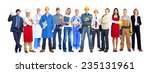 group of business people team.... | Shutterstock . vector #235131961