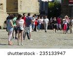 santiago de compostela  spain   ... | Shutterstock . vector #235133947