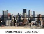 pittsburgh's skyline from mount ...   Shutterstock . vector #23515357