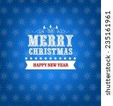 winter background | Shutterstock . vector #235161961