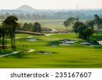 golf course sport  golfing... | Shutterstock . vector #235167607