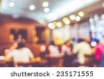 Blurred Background Customer Restaurant Blur - Fine Art prints