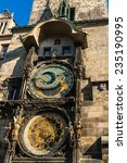 the astronomical clock in prague | Shutterstock . vector #235190995