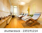 close up of loungers in cozy... | Shutterstock . vector #235191214