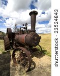 Old Steam Tractor.