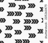 flat style seamless arrow... | Shutterstock .eps vector #235263475
