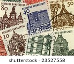 collage of vintage  colorful... | Shutterstock . vector #23527558