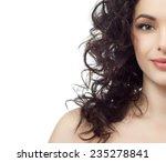 closeup portrait of attractive  ... | Shutterstock . vector #235278841