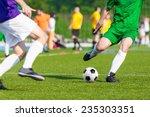 football soccer game.... | Shutterstock . vector #235303351