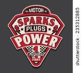 motor rider typography  shirt... | Shutterstock .eps vector #235312885