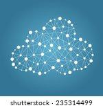 cloud computing concept | Shutterstock .eps vector #235314499