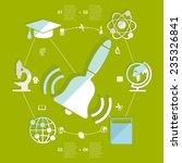 education flat infographic | Shutterstock .eps vector #235326841
