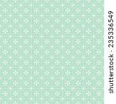green vector floral seamless... | Shutterstock .eps vector #235336549