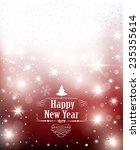 christmas shiny background.  | Shutterstock .eps vector #235355614