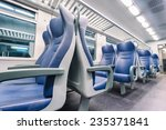 interior view of a modern train | Shutterstock . vector #235371841