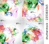 abstract vector background | Shutterstock .eps vector #235383565