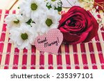 "paper heart with text ""good... 