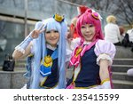 Постер, плакат: Girls dressed as anime