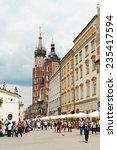 krakow  poland   may 31  2014 ...   Shutterstock . vector #235417594