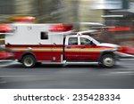 Ambulance On Emergency Call In...