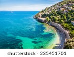 Sea Beach In Alanya  Turkey....