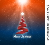 christmas background  christmas ... | Shutterstock . vector #235457971