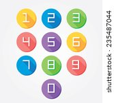 Flat Colorful Numbers