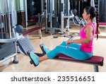 Low Pulley Rows Woman Wide Gri...