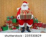 santa claus   father christmas... | Shutterstock . vector #235530829