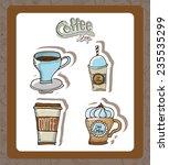 coffee design   vector... | Shutterstock .eps vector #235535299