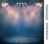 background in show. vector... | Shutterstock .eps vector #235535401