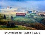mountain landscape in  autumn...   Shutterstock . vector #235541371