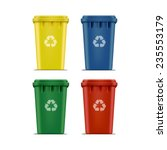 Vector Set Recycle Bins For...