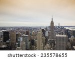 manhattan skyline. | Shutterstock . vector #235578655