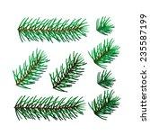 realistic vector illustration... | Shutterstock .eps vector #235587199