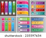 colorful modern text box... | Shutterstock .eps vector #235597654