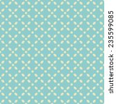 seamless pattern with abstract... | Shutterstock .eps vector #235599085