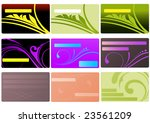 card set | Shutterstock .eps vector #23561209
