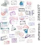 Passport Stamp - Fine Art prints