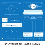 blueprint set of ux audio and...
