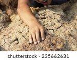 hand in cliff climbing sport | Shutterstock . vector #235662631