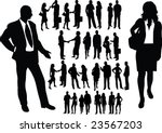 man and woman couples...   Shutterstock . vector #23567203